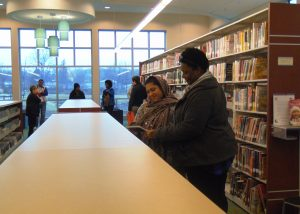 ABE/GED class trip to Claymont Library - Feb. 2016