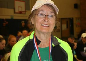 Dr. Phyllis Smoyer - 1st place in age group