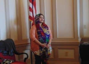 Speaking at the Legislative Meet & Greet - March 2016