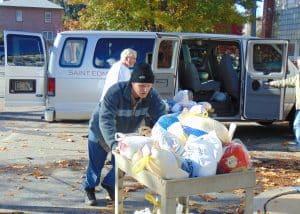 St. Edmonds food donation - Nov. 2015