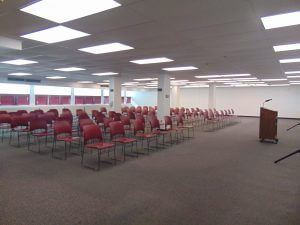 Large Event Room (old library)