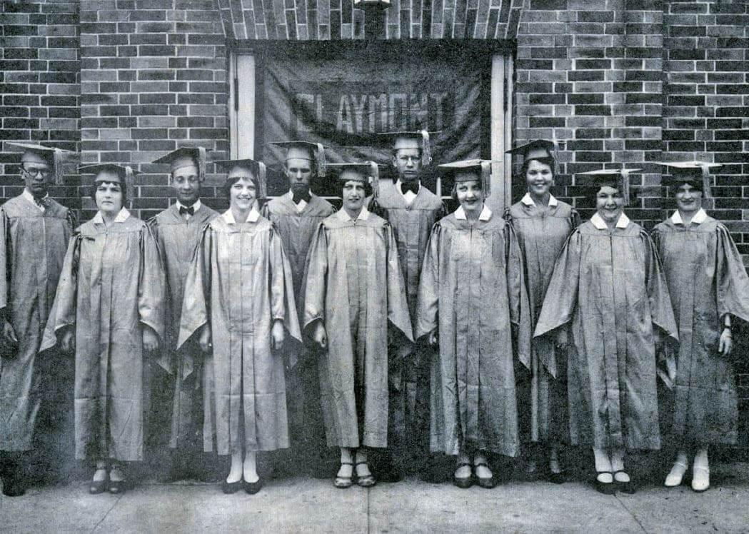 1929 first graduating class